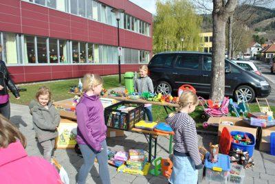 Flohmarkt 2017 des Elternvereins