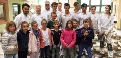 Die 3. Klassen besuchten die HTL Zeltweg