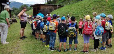 VS Fohnsdorf 1. Klassen Ausflug in die Wöll