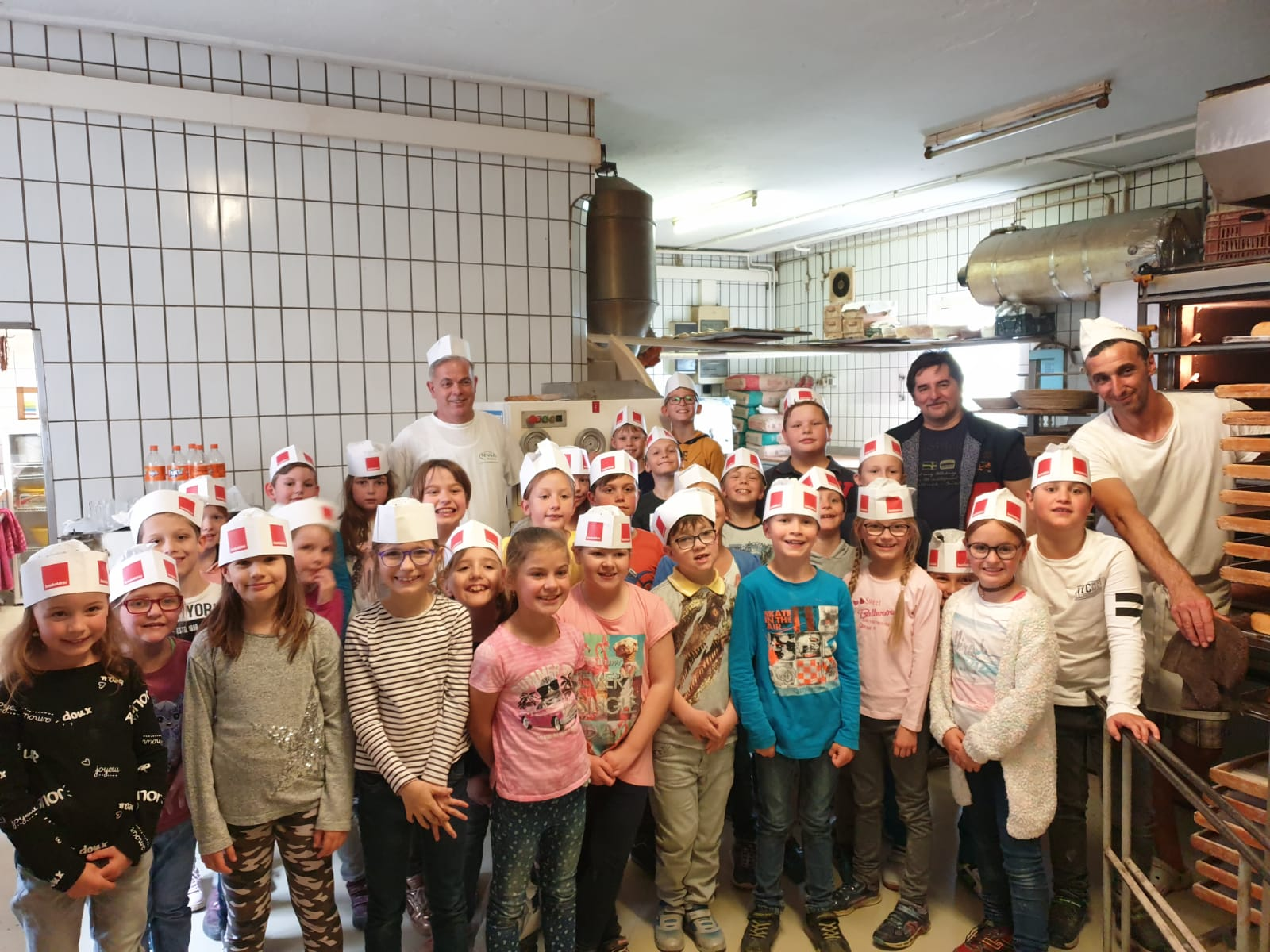 Zu Besuch bei der Bäckerei Wildbacher