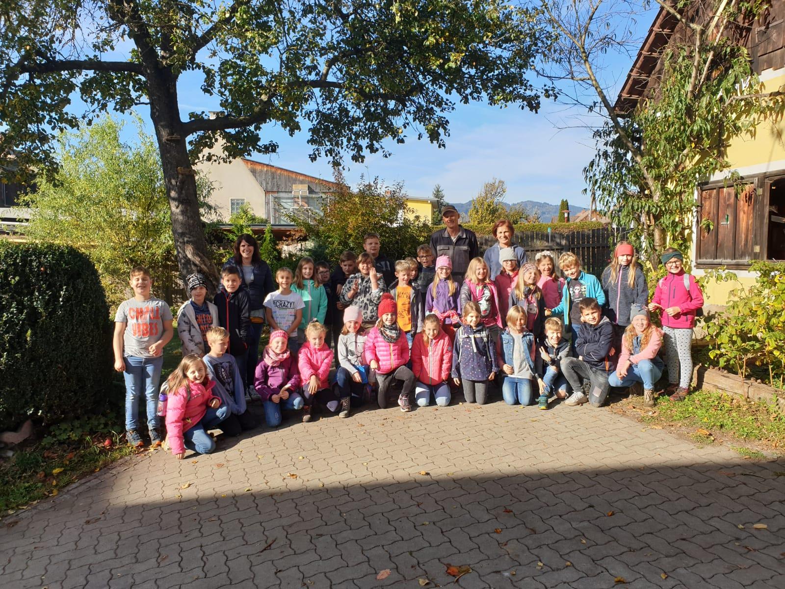 Besuch am Biobauernhof Bärnthaler