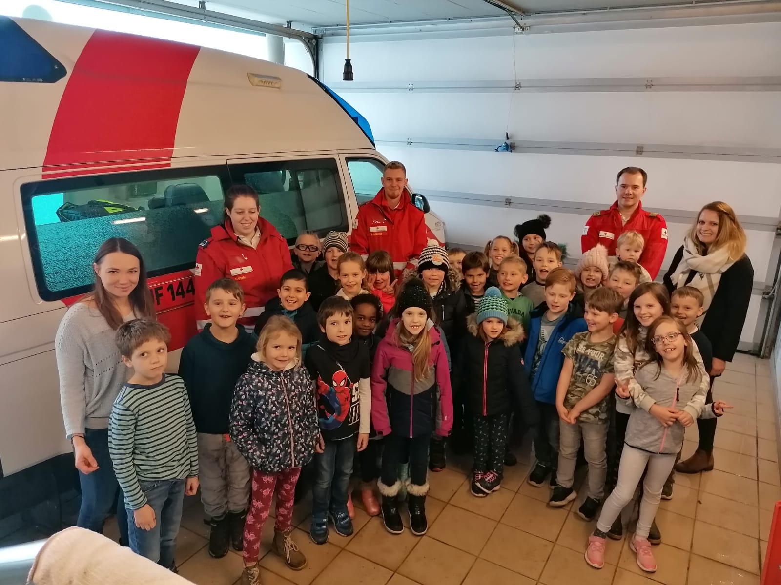 Besuch bei der Rettung in Fohnsdorf